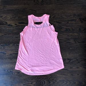 mossimo pink tunic tank top Cut Out Size Medium